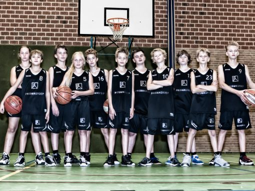 Teamfoto's U14